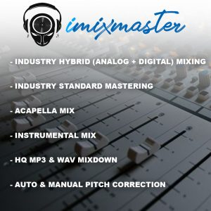 STANDARD MIXING AND MASTERING